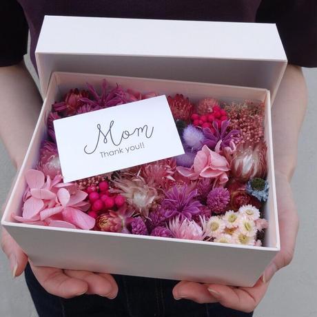 【THANKS MOM,ALWAYS!! 】THANKS MOM BOX  (PINK)