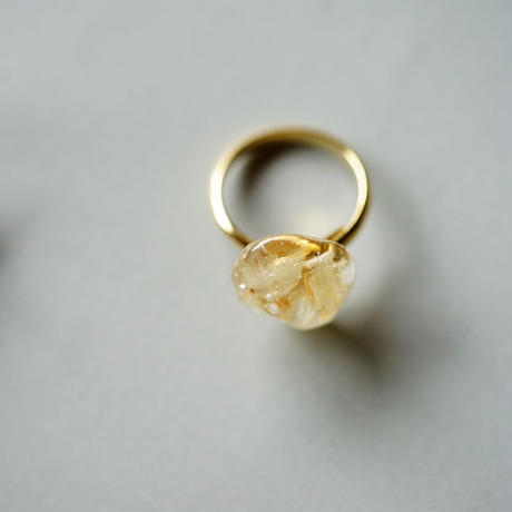 "【Summer Museum】ring ""Pure white"""