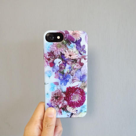 "【Summer museum】iPhone case ""Dahlia""(iPhone6/6s/7/8、iPhoneX/XS)"
