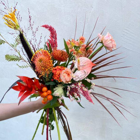 Seasonal gift bouquet M(September)