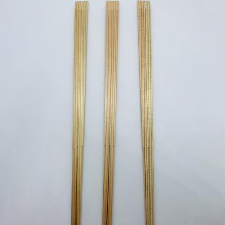 天削げ箸 白・茶(混)24cm 1000膳(1膳9円税抜)100膳×10束