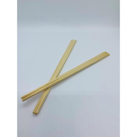 郡上割り箸 天削げ箸21cm 白・茶(混)100膳(1膳12円)