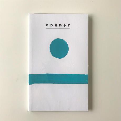 """【opnner】opnner first book  """"HORIZON"""""""
