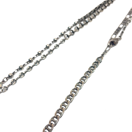 【AW2019】gunda<ガンダ > FEATHER'19 NECKLACE[フェザー'19ネックレス]