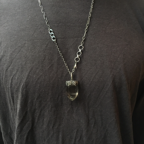 gunda<ガンダ >ROCK 18-10 NECKLACE[ ロック 18-10 ネックレス]  ONE OF A KIND[ 一点物]