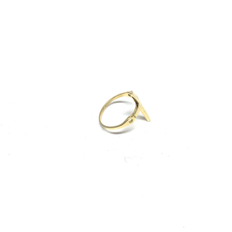 【AW2019】gunda<ガンダ >CROSS'19 RING/K18Gold[クロス'19リング/K18Gold]