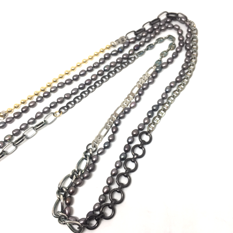 【2020SS】gunda<ガンダ>CONNECT-2 NECKLACE[コネクト-2ネックレス]