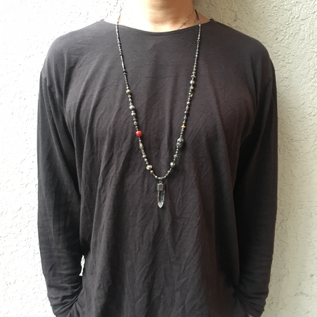gunda<ガンダ >ROCK 47 NECKLACE[ ロック 47 ネックレス]  ONE OF A KIND[ 一点物]