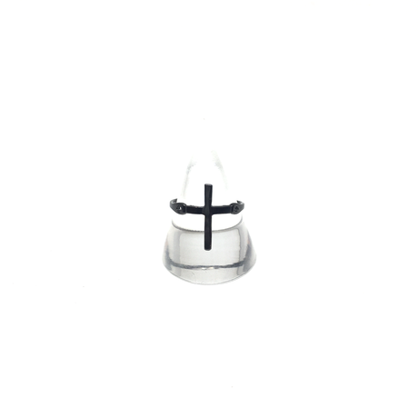 【BLACK COLLECTION】gunda<ガンダ>CROSS'19 NERO RING[クロス'19ネロリング]LIMITED ITEMS[ 限定商品]