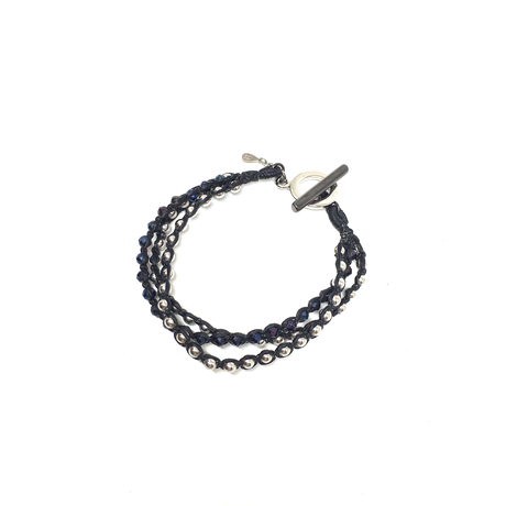 【BLACK COLLECTION】gunda<ガンダ>BUBBLE ARROWS BRACELET/A[バブルアローズブレスレット/C]LIMITED ITEMS[ 限定商品]