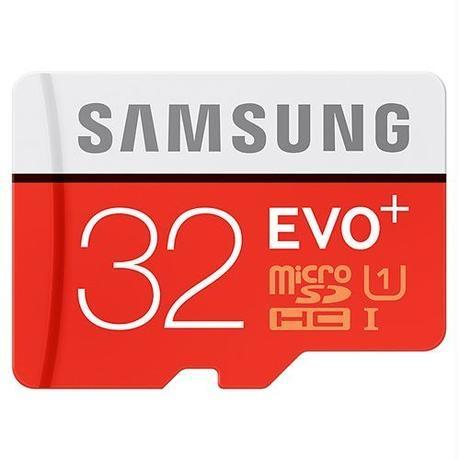 32GB Samsung サムスン microSDXCカード EVO Plus Class10 UHS-I海外リテール