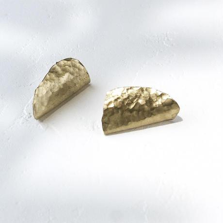 Brass Shellfish Earrings