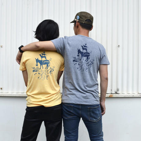 ぐりむ公式ブレーメンTシャツ ネイビー