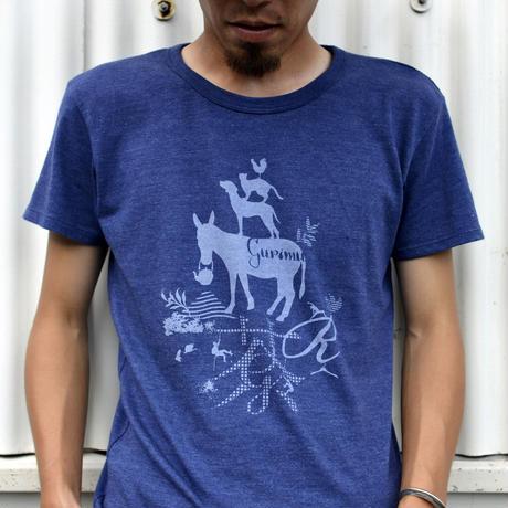 ぐりむ公式ブレーメンTシャツ ディープネイビー