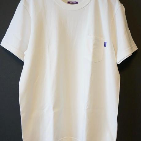 RUGGED high grade cotton pocket tee (White)