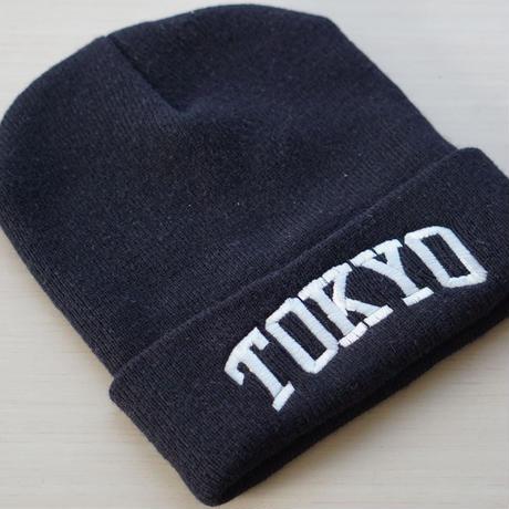 "RUGGED    ""TOKYO 2020""   knit cap (BlackWhite)"