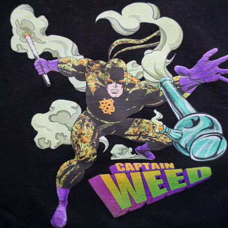"RUGGED    ""captain weed"" tee"