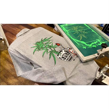"""weed""  Oxford shirt"