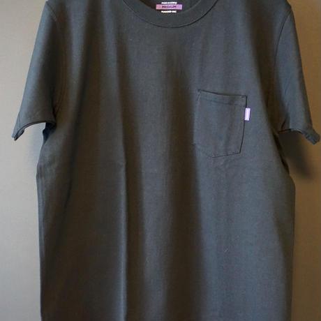 RUGGED high grade cotton pocket tee (Black)