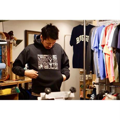 """Barefoot Gen   12.4oz  """"hoody"""""""