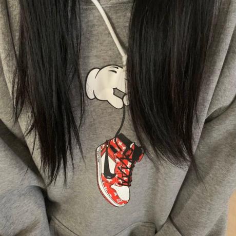 """Vuitton kicks"" hoodie"