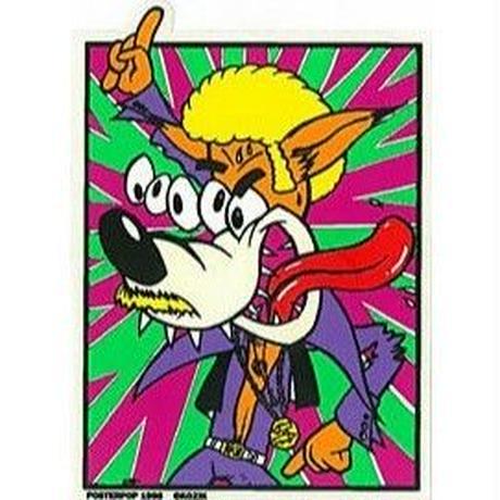 フランク・コジック ステッカー Disco Wolf