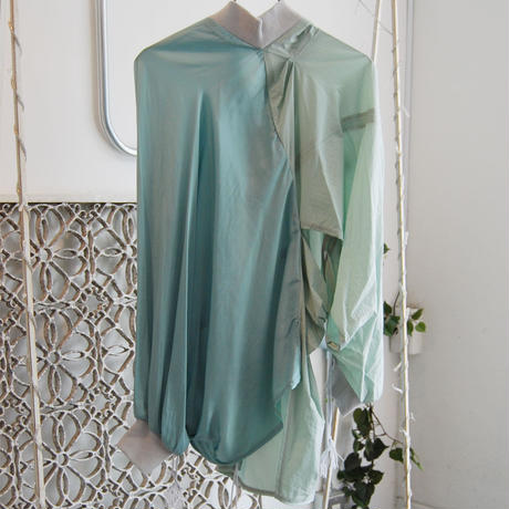 SHIROMA 20-21A/W pin tuck drapey cardigan