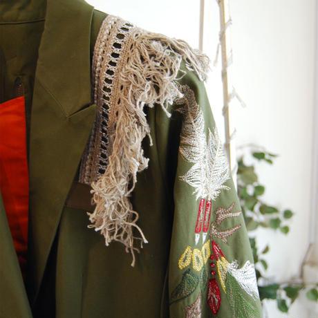 SHIROMA 20S/S peaked lapel MA-1 jacket