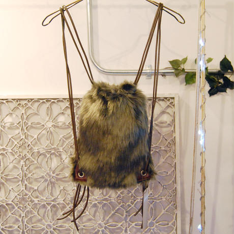 SHIROMA 16-17A/W DARK AGES fur knappsack -S-