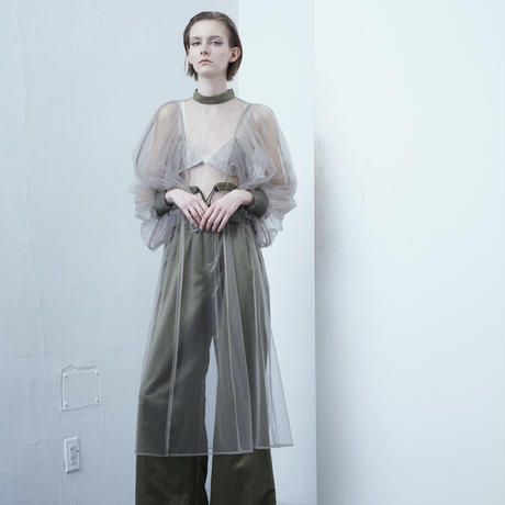 SHIROMA 20-21A/W tulle dress
