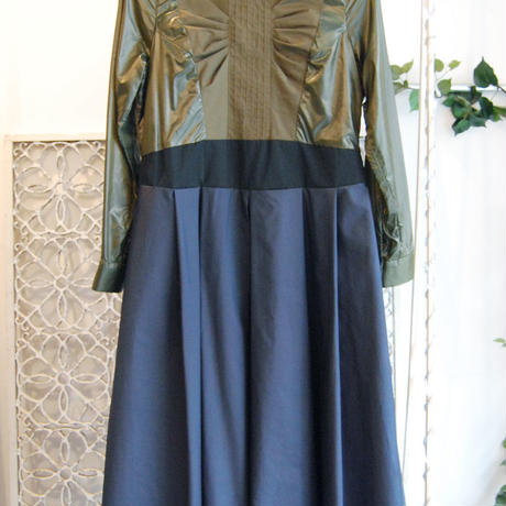 SHIROMA 16-17A/W DARK AGES synthetic fiber dress