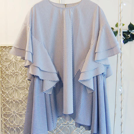 SHIROMA 17S/S BREAK ruffle tunic