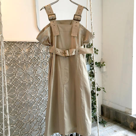 SHIROMA 18-19A/W CHURCH buckle ma-1 dress