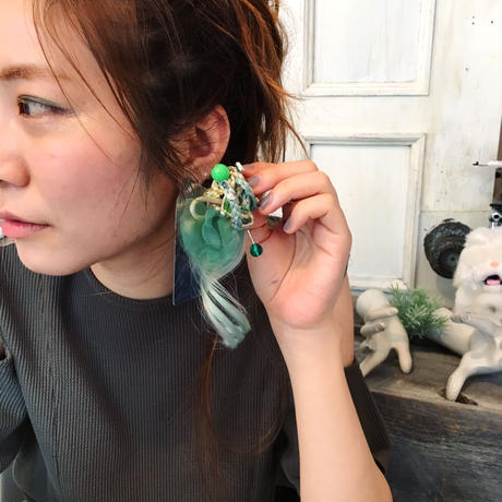 incantesimo fiber earring【G-P042】