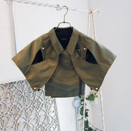 SHIROMA 18S/S ANARCHY overlay bolero jacket