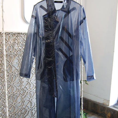 SHIROMA 19-20A/W see-through cord lock coat
