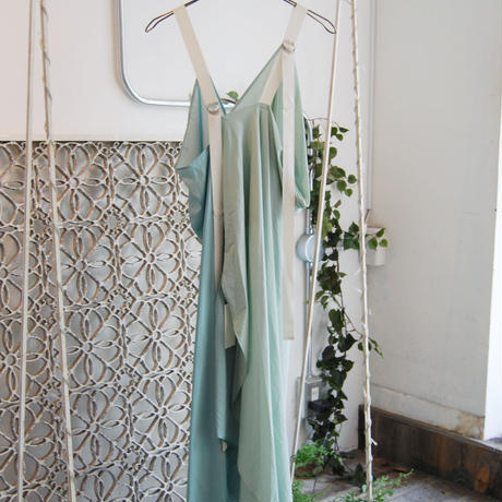SHIROMA 20-21A/W pin tuck drapey dress