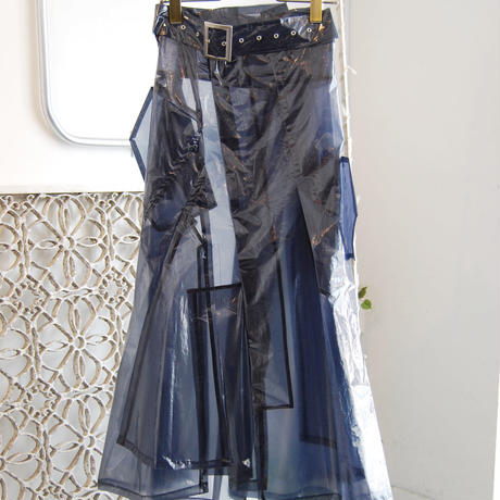 SHIROMA 19-20A/W see-through break up skirt
