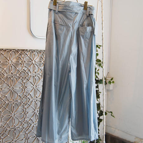 SHIROMA 19-20A/W high waist nylon tack pants
