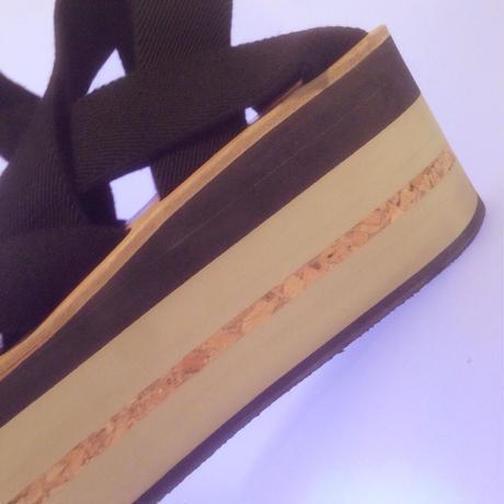 ARIELLE DE PINTO / LVMM woven tape -black-