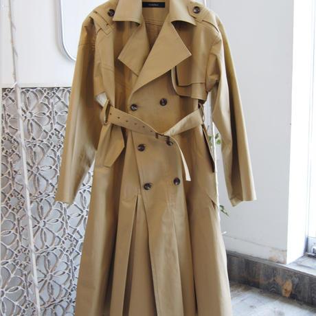 SHIROMA 18-19A/W CHURCH break up oversize trench coat
