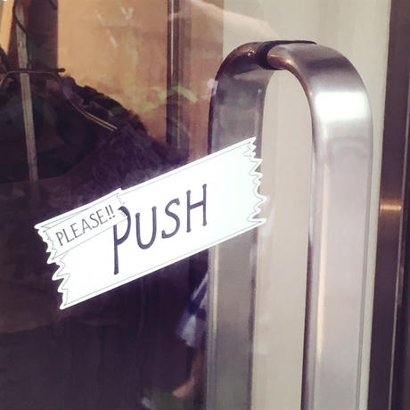 GUSUCUMA door sticker