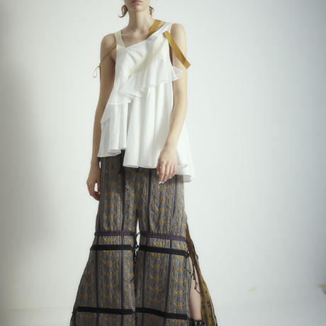 SHIROMA 18S/S ANARCHY Jacquard skirt