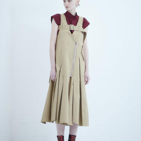 SHIROMA 18-19A/W CHURCH break up trench dress