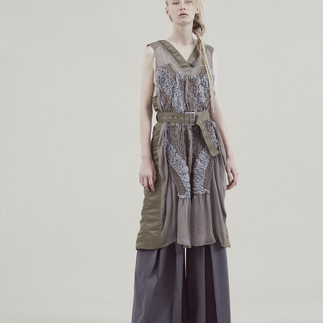 SHIROMA 20S/S MA-1 silk dress
