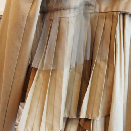 SHIROMA asymmetry trench coat