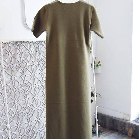SHIROMA 18-19A/W CHURCH ma-1 rib dress