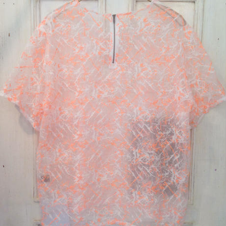 50%OFF!!! SHIROMA 15S/S PRIMITIVE ACTION skeleton tops -orange-