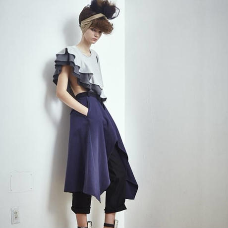 SHIROMA 17S/S BREAK ruffle tops