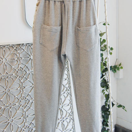 SHIROMA 17-18A/W Female punks sweatpants -gray-